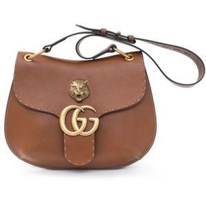 Gucci 2016 Runway GG Marmont Animalier Bag